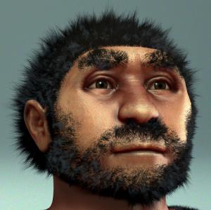 Reconstrucción facial forense de Homo erectus pekinensis